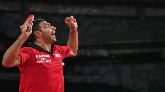 مدرب منتخب مصر لتنس الطاولة: لن أطالب عمر عصر بالفوز على لونج ما