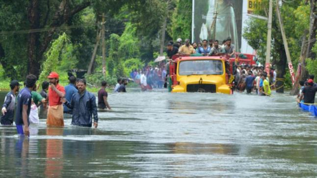مصرع 76 شخصا وفقدان 59 على الأقل في فيضانات الهند
